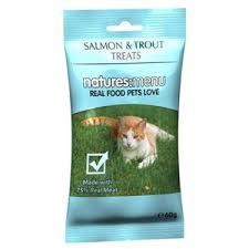 Natures Menu Cat Treats Salmon & Trout 60g