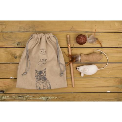 Banbury & Co Luxuy Cat Toys Gift Bag