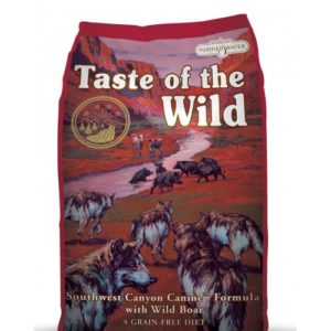 Taste Of The Wild Dog Southwest Canyon Wild Boar 2kg