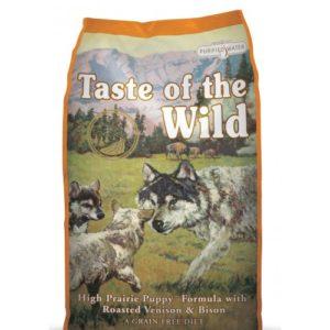 Taste Of The Wild Puppy High Prairie Roast Venison & Bison 2kg