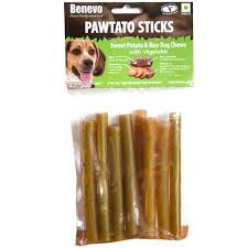 Benevo Pawtato Sticks Vegetable 120gx12