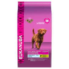 Eukanuba Dog Adult Weight Control Large Breed Chicken 12kg
