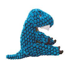 Kong Dynos T-rex Blue Small