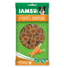 Iams Minis Chicken & Carrots 100gx16