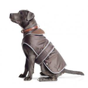 Muddy Paws Stormguard Coat & Chest Protector Chocolate Extra Large