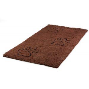 Dirty Dog Doormat Runner Brown 152x76cm
