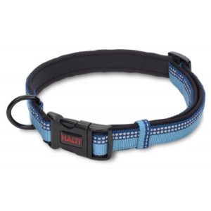 Halti Nylon Adjustable Collar Blue Small 10mm X25-35cm