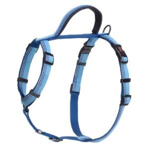 Halti Nylon Walking Harness Blue Medium 56-76cm
