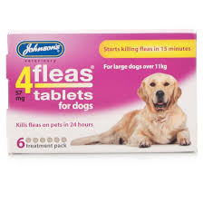 4fleas Tablets – Dogs Over 11kg 6 Tablets