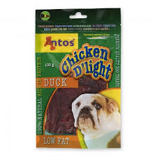 Antos Chicken D'light Duck 100g x10