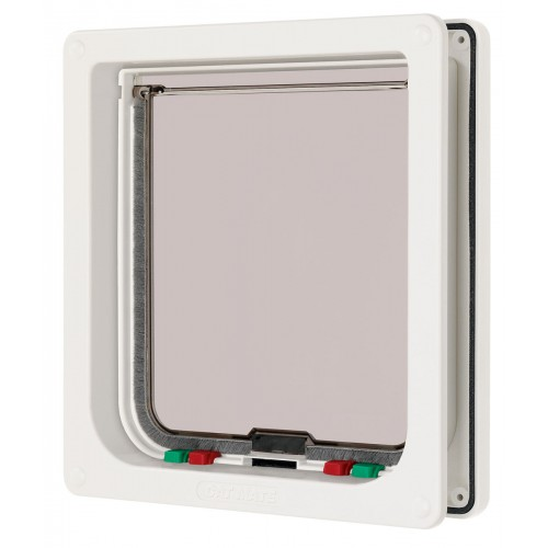 Cat Flap White Large 21×22.7cm