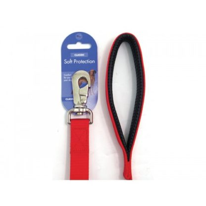 Classic Soft Protection Nylon Padded Lead Red 18 X 1″