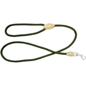 Dog & Co Supersoft Rope Trigger Lead 14mm X48″ Green