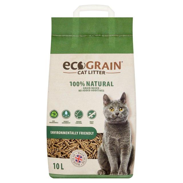 Ecograin Cat Litter 30 Litre - Shanklin Pet Stores Isle of Wight