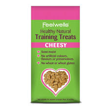 Feelwell's Healthy Natural Training Dog Treats Cheesy 115g X7