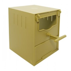 Finch Box Open Front 11.5×11.5x13cm (4.5×4.5×5″)