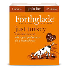 Forthglade Complementary Grain Free Just Turkey 395gx18
