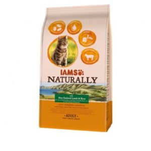 Iams Naturally Adult Cat With New Zealand Lamb & Rice 2.7kg