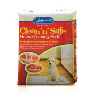 Jvp Clean 'n' Safe House Training Pads Large 15pk