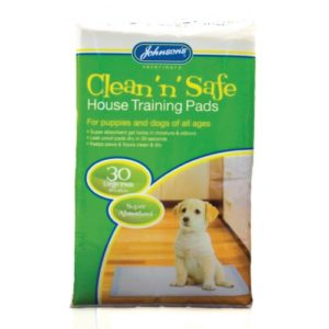 Jvp Clean 'n' Safe House Training Pads Large 30pk