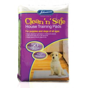 Jvp Clean 'n' Safe House Training Pads Large 50pk
