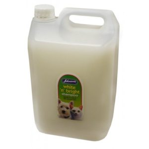 Jvp Dog & Cat White 'n' Bright Shampoo 5ltr