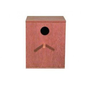 Lovebird/small Parakeet Nest Box 25.5x20x20cm (10x8x8″)