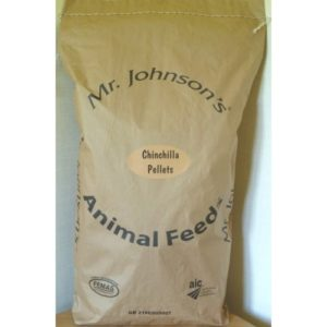 Mr Johnson's Supreme Chinchilla & Degu Pellets 20kg
