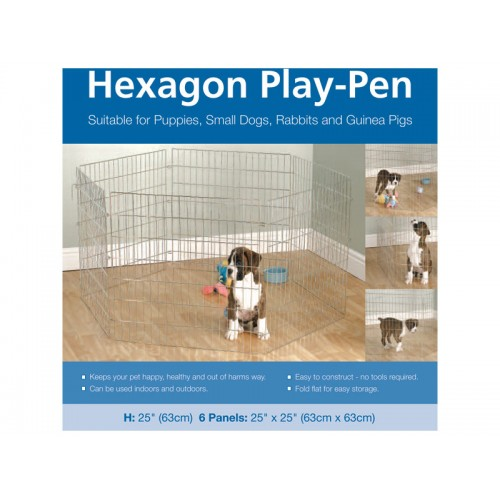 Options Hexagon Play Pen 6″x 24″