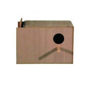 Right Hand Budgie Nest Box 23x15x15cm (9x6x6″)