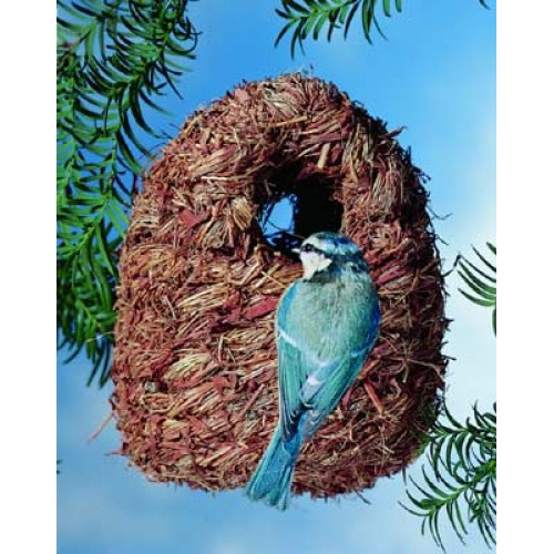 Small Bird Nest / Shelter 16.5×9.5×9.5cm
