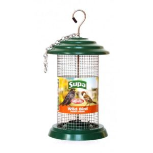 Supa Easy Fill Plastic Peanut Feeder Green 20cm (8″)