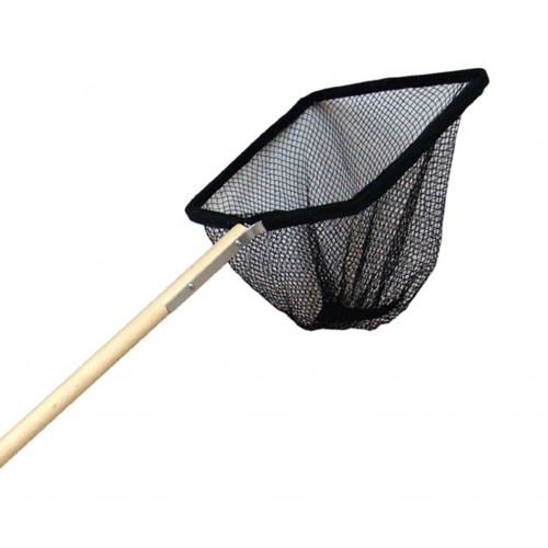 Supa Pond Net 12×10″ With 48″ Wooden Handle