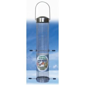 Supa Stainless Steel Fort Knuts Peanut Feeder 30cm (12″)