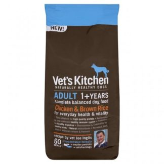 Vet's Kitchen Adult Dog Chicken & Brown Rice 7.5kg