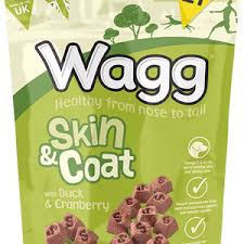 Wagg Skin & Coat Treats With Duck & Cranberry 125gx7